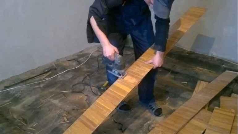 Как укрепить деревянный пол, если доски ходуном ходят