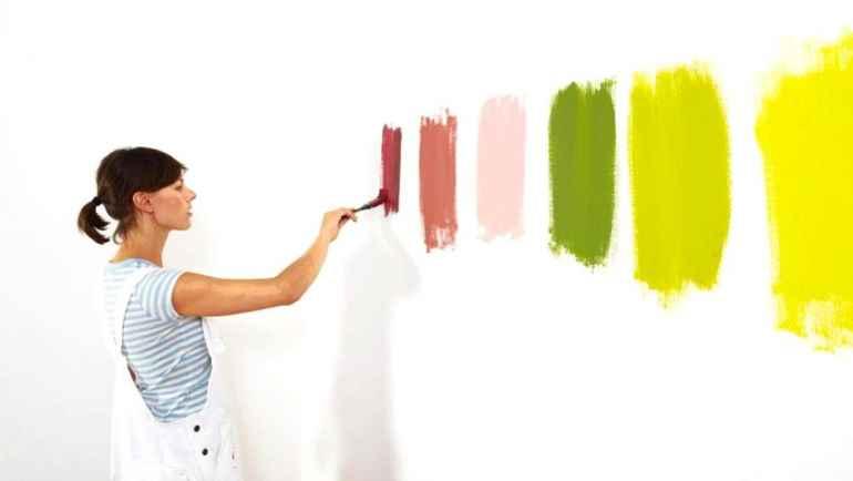 Как исправить дефекты при покраске стен