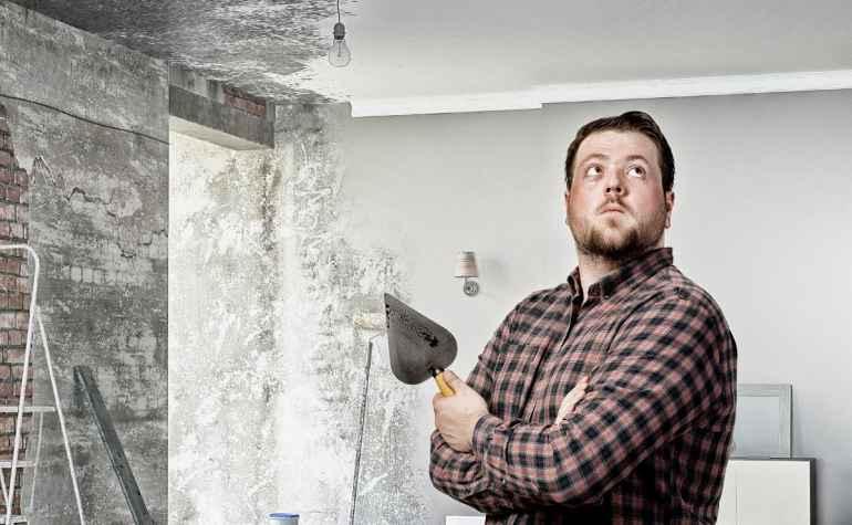 Почему сыпется пыль со стен даже после грунтовки