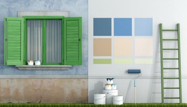 5 ошибок, из-за которых краска на стенах не продержится долго