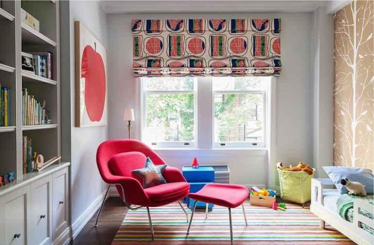 Какую краску подобрать для декора стен в детской комнате