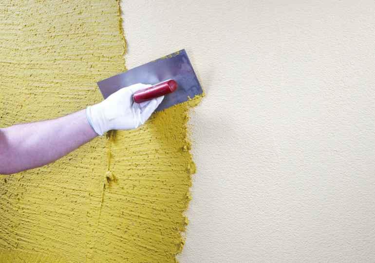 Основные правила работы с фактурной краской