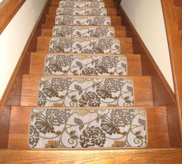Выбираем ковровое покрытие для ступеней лестницы