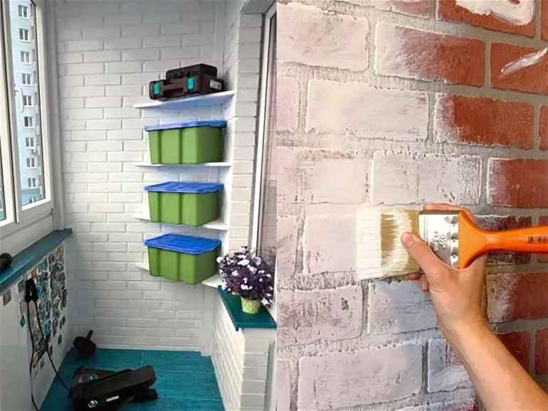 Подбираем краску для наружных работ на балконе