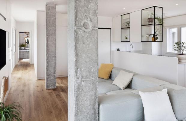 Используем колонны из полиуретана для создания роскошного интерьера