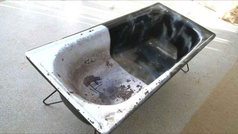 Реставрируем ванну своими руками в домашних условиях