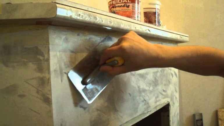 Как выбрать штукатурку для печей и камина