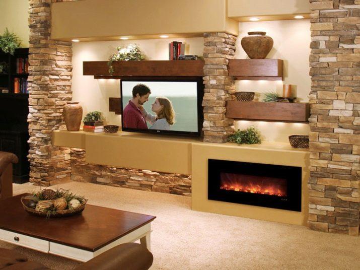 Камин в интерьере гостиной: как выбрать и провести работы по установке самостоятельно?