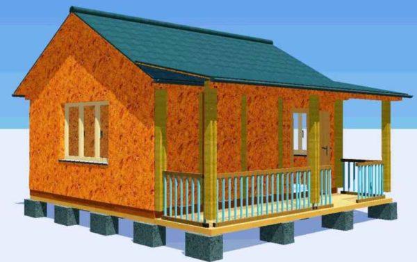 Каркасный дом. Особенности, преимущества и недостатки